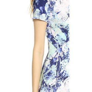Misha Nonoo Dresses - MISHA NONOO SILK PRINT RUFFLE HEM DRESS SZ 6